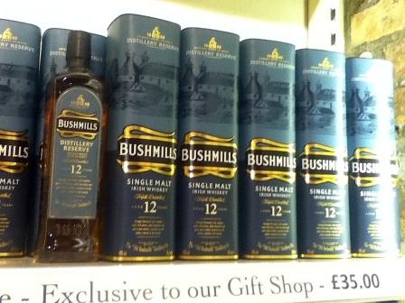Bushmills12Tins