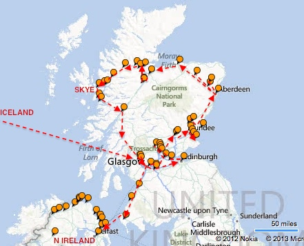 ScotlandToIrelandMap