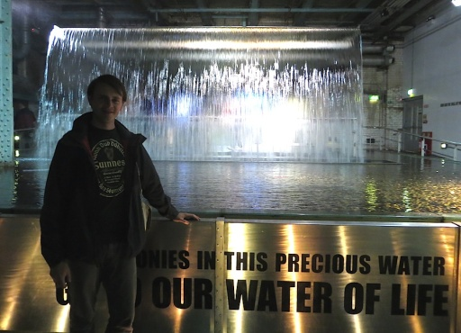GUINNESSmeWATERfountain
