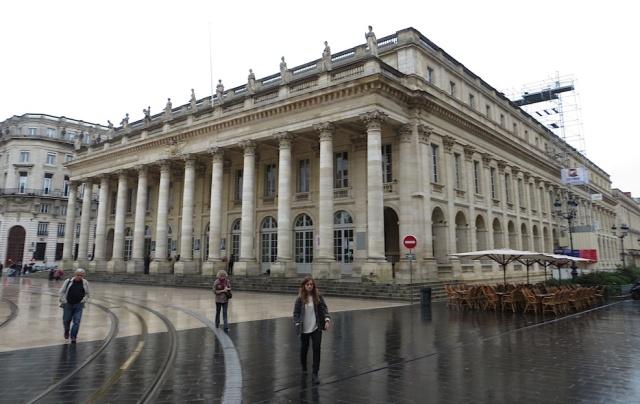 Bordeaux Opera Rain