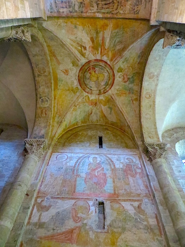 Frescoes St Sernin