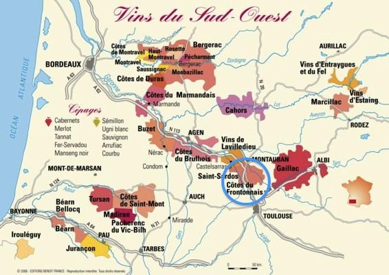 Fronton Wine Region