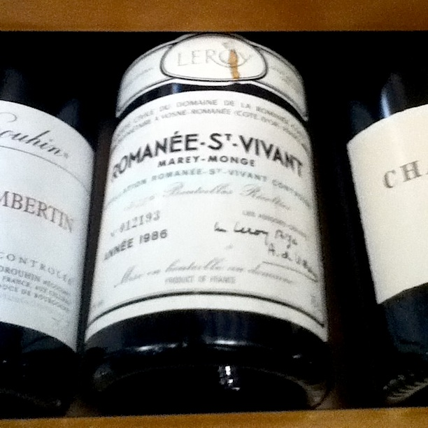 Only Burgundy's best Biodynamic producer and 1986!