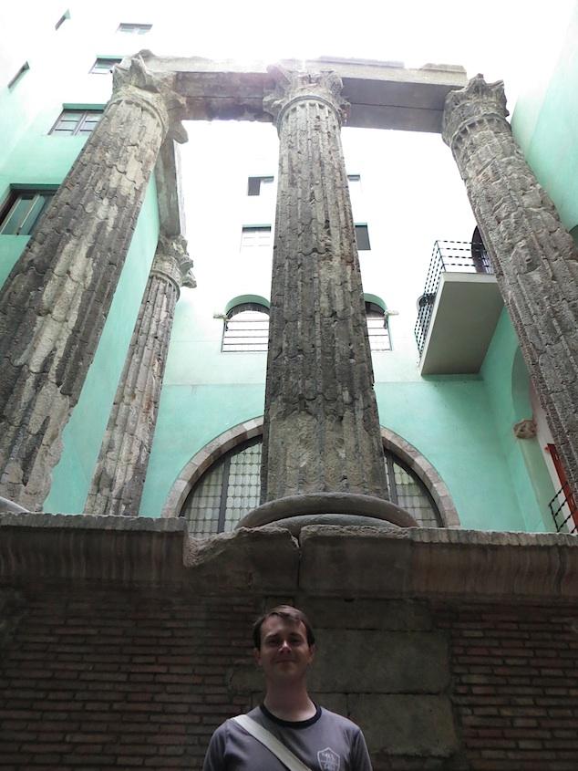 Temple Of Augustus Barcelona