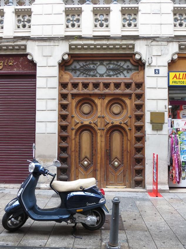 Just a door.
