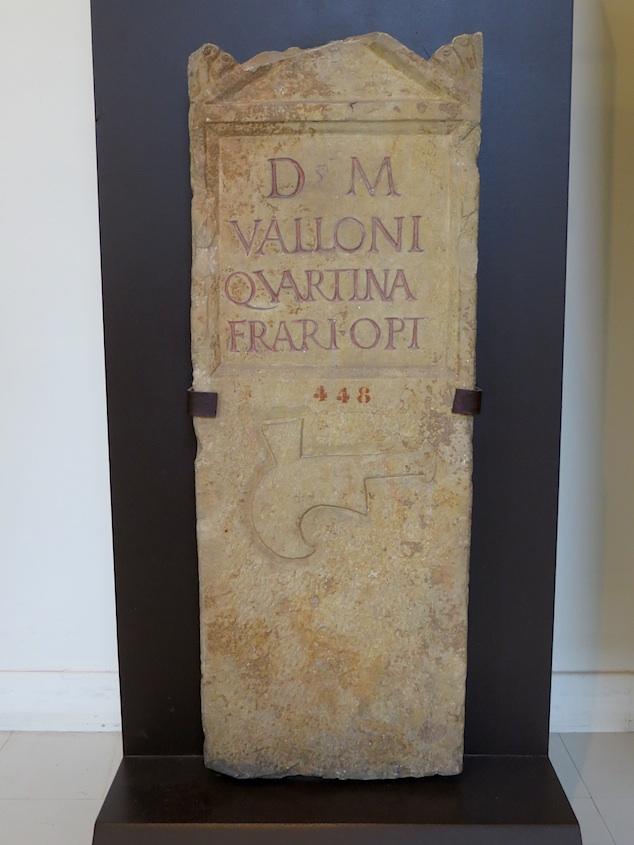 Roman Vine Cutter Grave