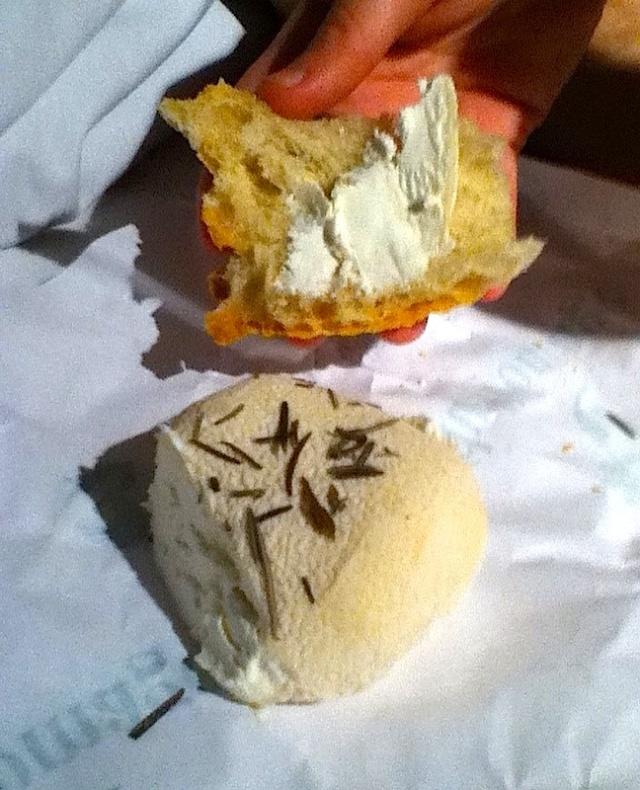 Romarin Cheese closeup