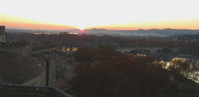 Sunset Avignon