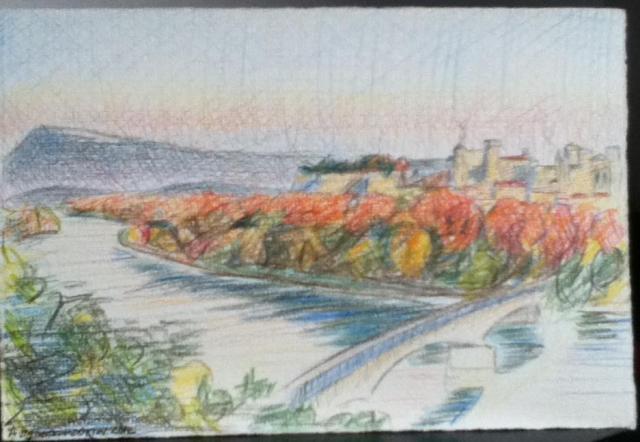 Avignon Drawing