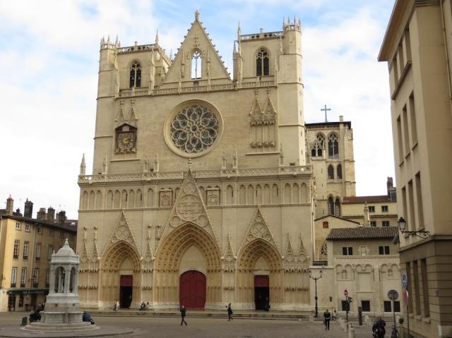 Lyon Saint-Jean-Baptiste Cathedral