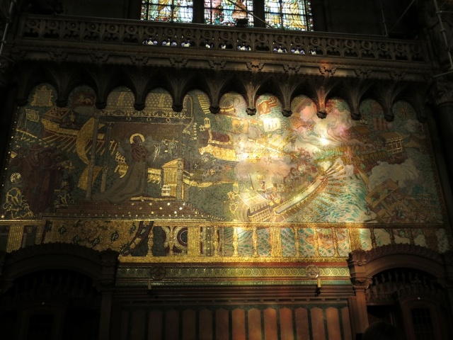 Mosaic Lyon Basilica