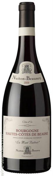 nuiton beaunoy hautes-cotes-bourgogne le-mont battois rouge burgundy france