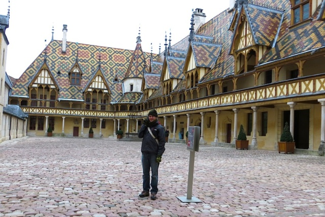 Courtyard Hospice de Beaune