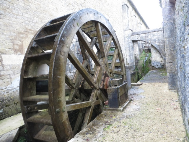 Fontenay Water Wheel