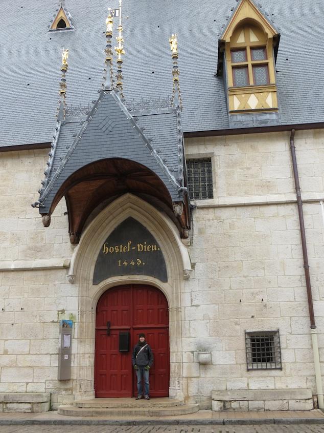 Hotel Dieu Hospice Red Door