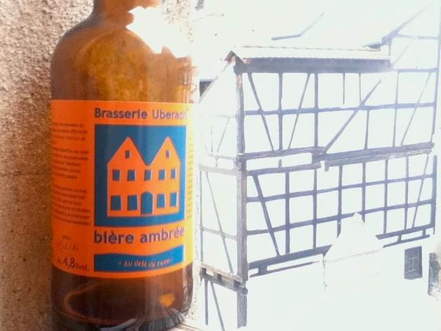 Brasserie Uberach Biere ambree