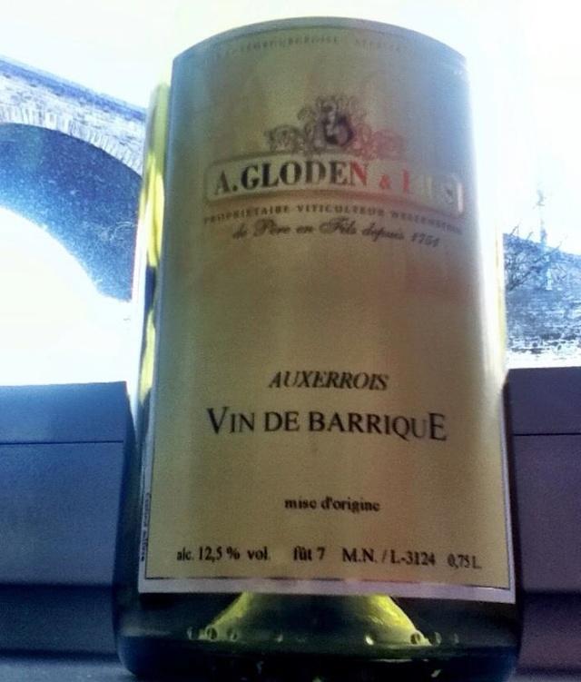 Gloden et Fils Auxerrois Barique Luxembourg