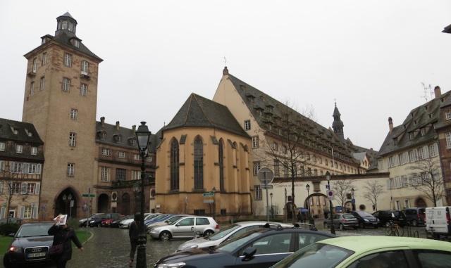 Hospice de Strasbourg Exterior