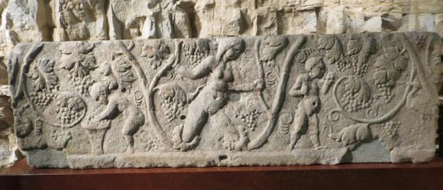 Roman Vine Sarcophagus