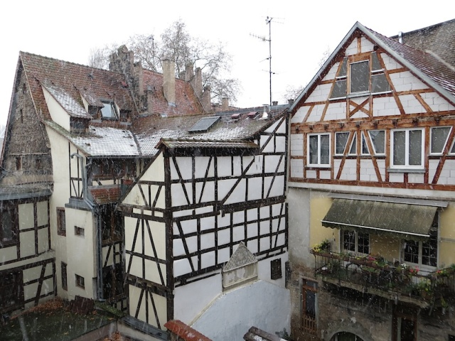 Strasbourg Apartment Snow