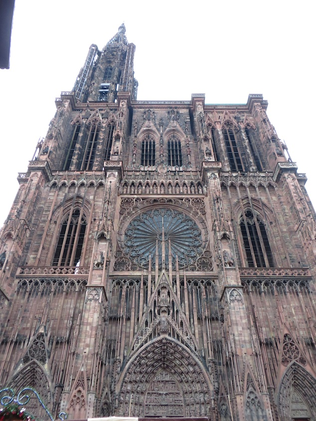 Strasbourg Cathedral Facade