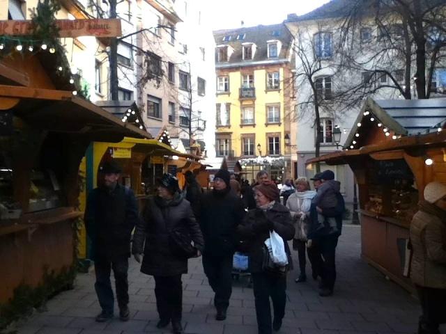 Strasbourg Christmas Market peeps