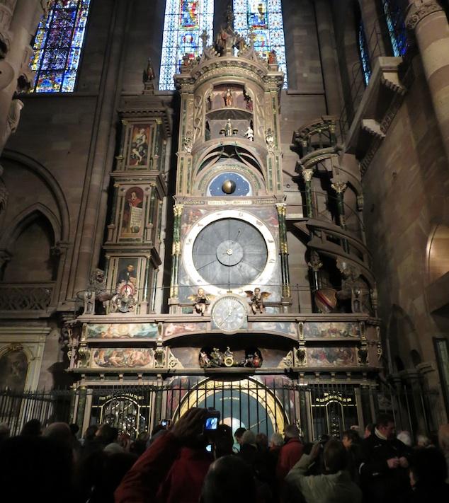 Strasbourg Clock Cathedral