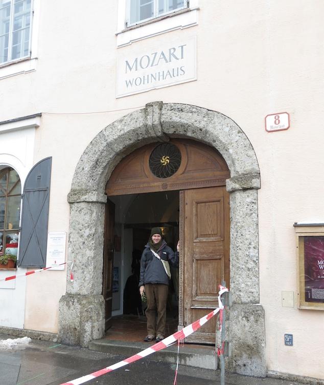 Aaron Mozart Wohnhaus