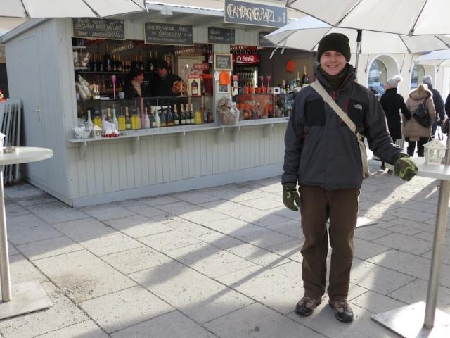 CHampagner Platz Salzburg