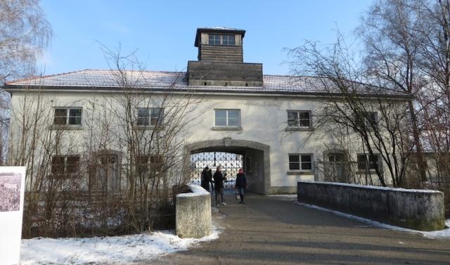 Dachau Entrance