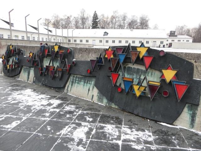 Dachau Memorial to dead