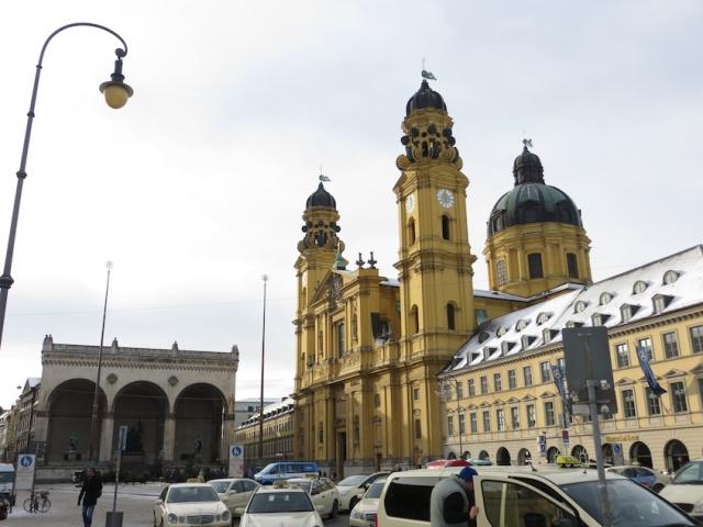 Golden Munich Church