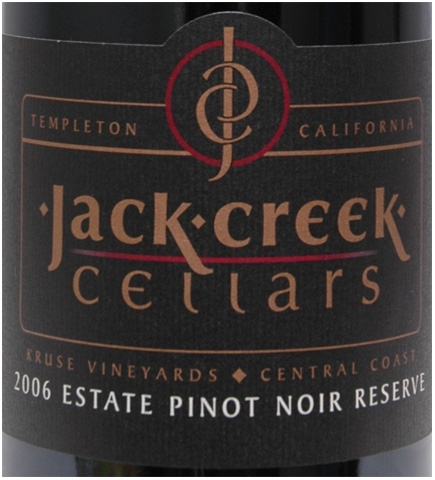 Jack Creek Pinot Res 2006