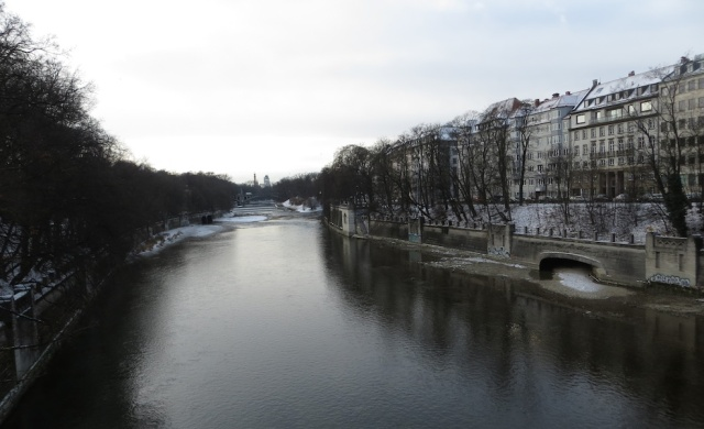 Munich River View Icy