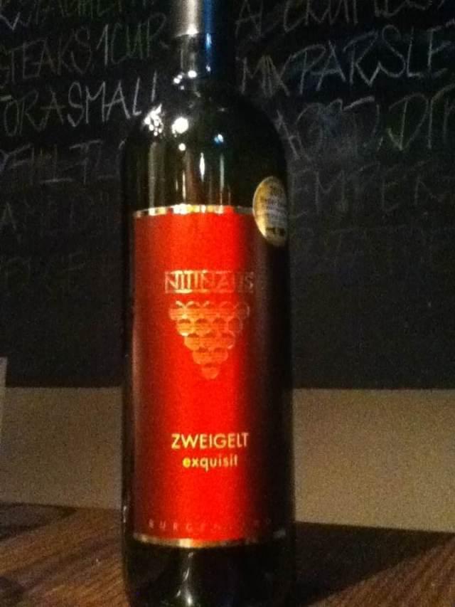 Nittnaus Zweigelt Exquisit Austria Wine