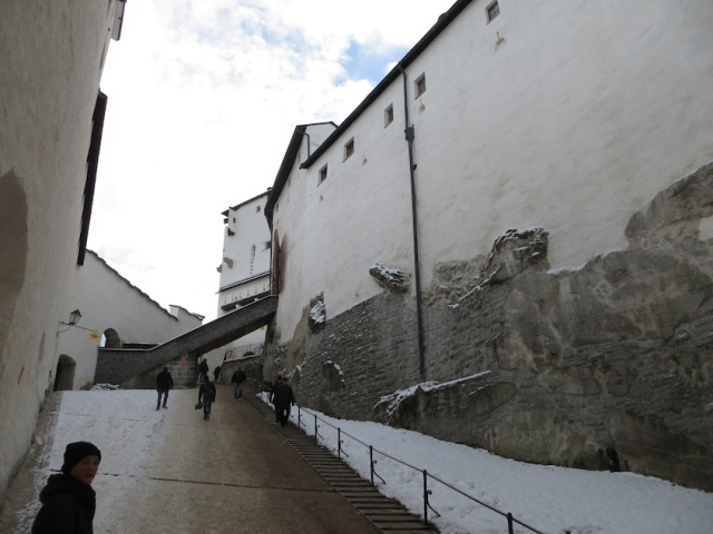 Salzburg Fortress Steps