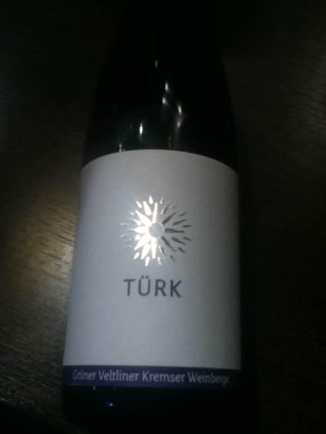 Turk Gruner Veltliner Kremser Austria