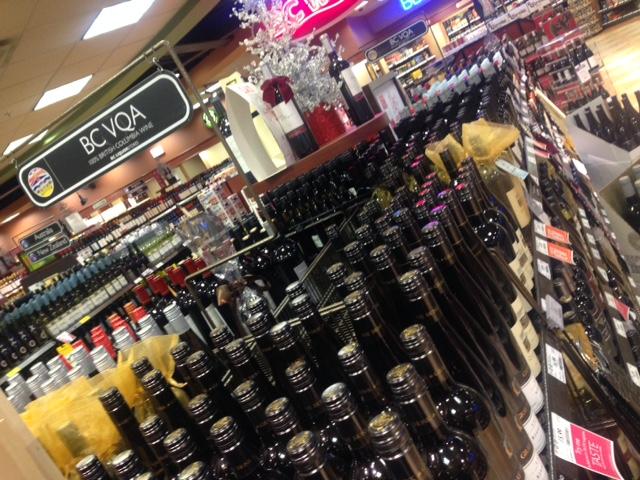 BC Liquor Store BC Wine