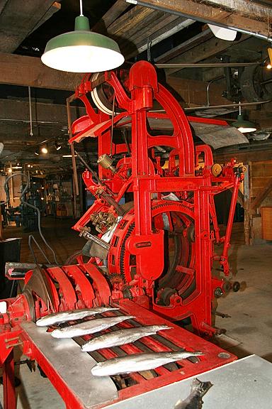 Butchering Machine Gulf Of Georgia Cannery01D