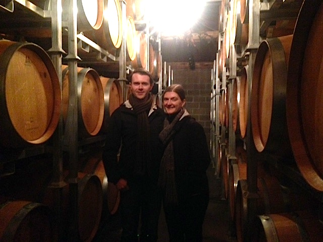 Chambourton Barrel Room