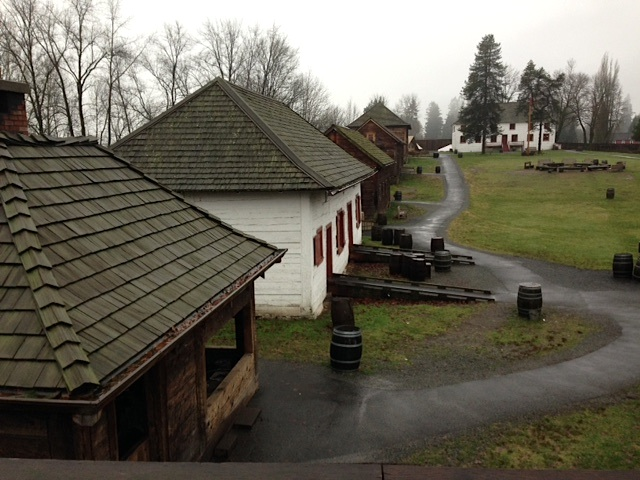 Fort Langley Above