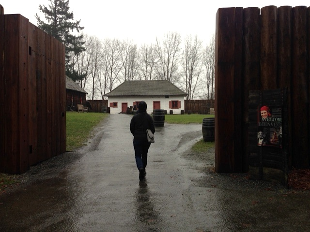 fort Langley Entrance Tracy