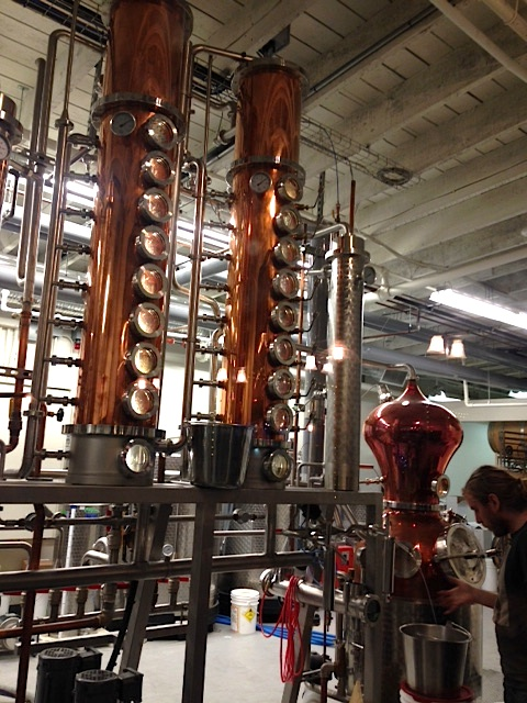 Granville Distillery interior
