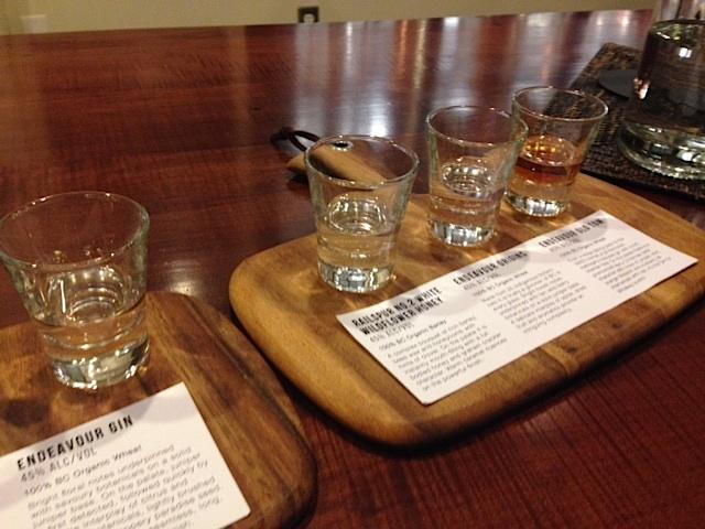 Granville Distillery shots