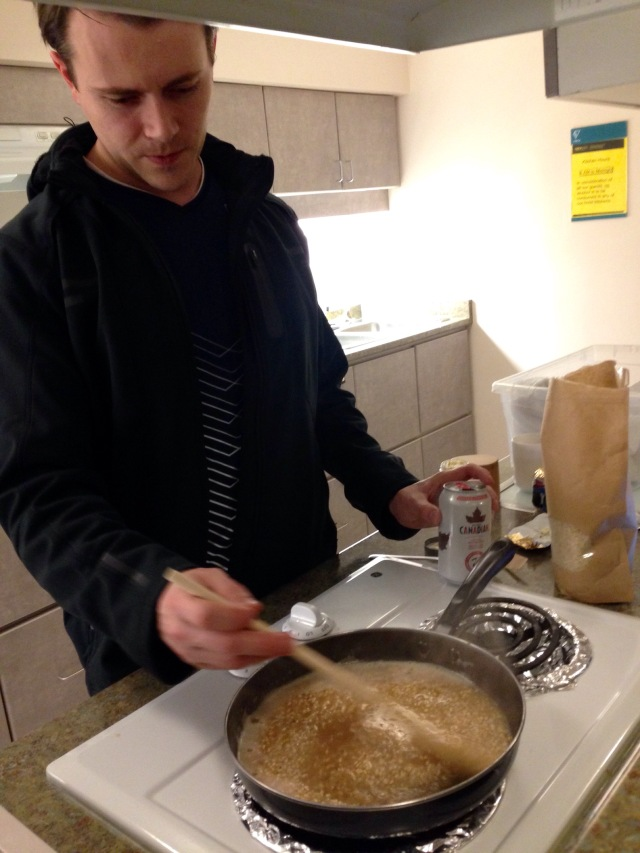 Aaron risotto