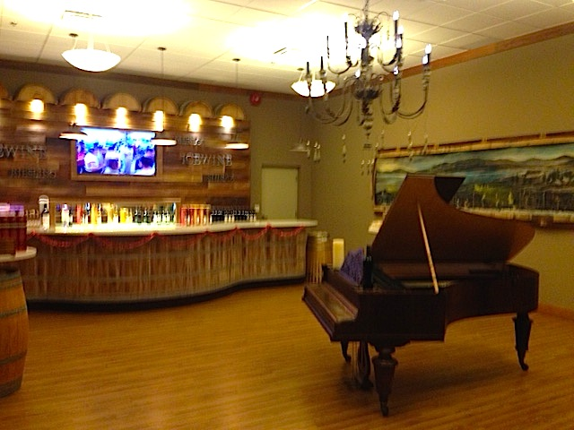 Lulu Winery Piano Tasting Room