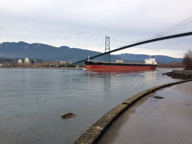 Stanley Park Shipping Boat