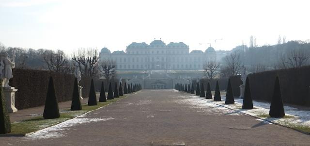 Belvedere Gardens Vienna Austria