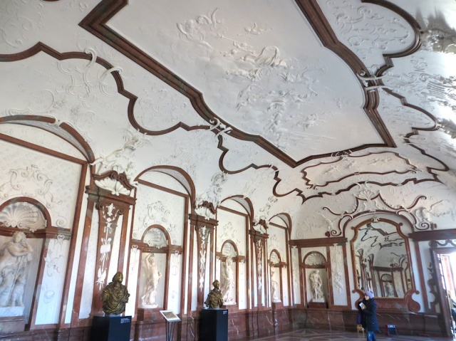 Belvedere interior Vienna Austria
