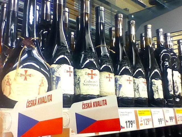 Czech wine isle
